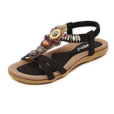 Bonitas sandalias de caucho