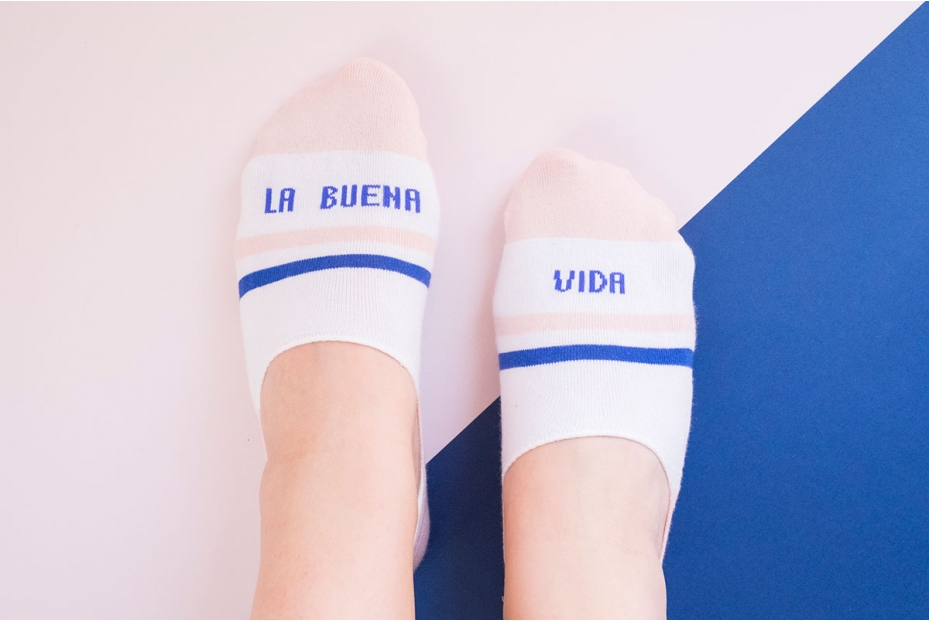 """Mini calcetines para """"la buena vida"""""""